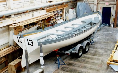 Brooklin Boat Yard Builds 28′ Naval Cutter Replica