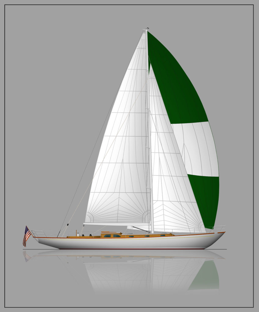 BBY Design 50 Sloop R01