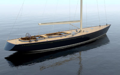 Construction Begins on Custom 91-foot Sloop