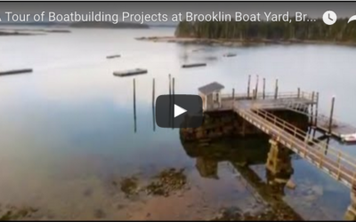 Boatbuilding Projects at Brooklin Boat Yard