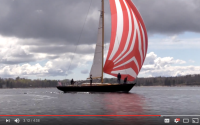 BLACKFISH Launch and Sail