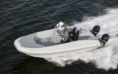 T33, Custom High-Speed Catamaran Tender