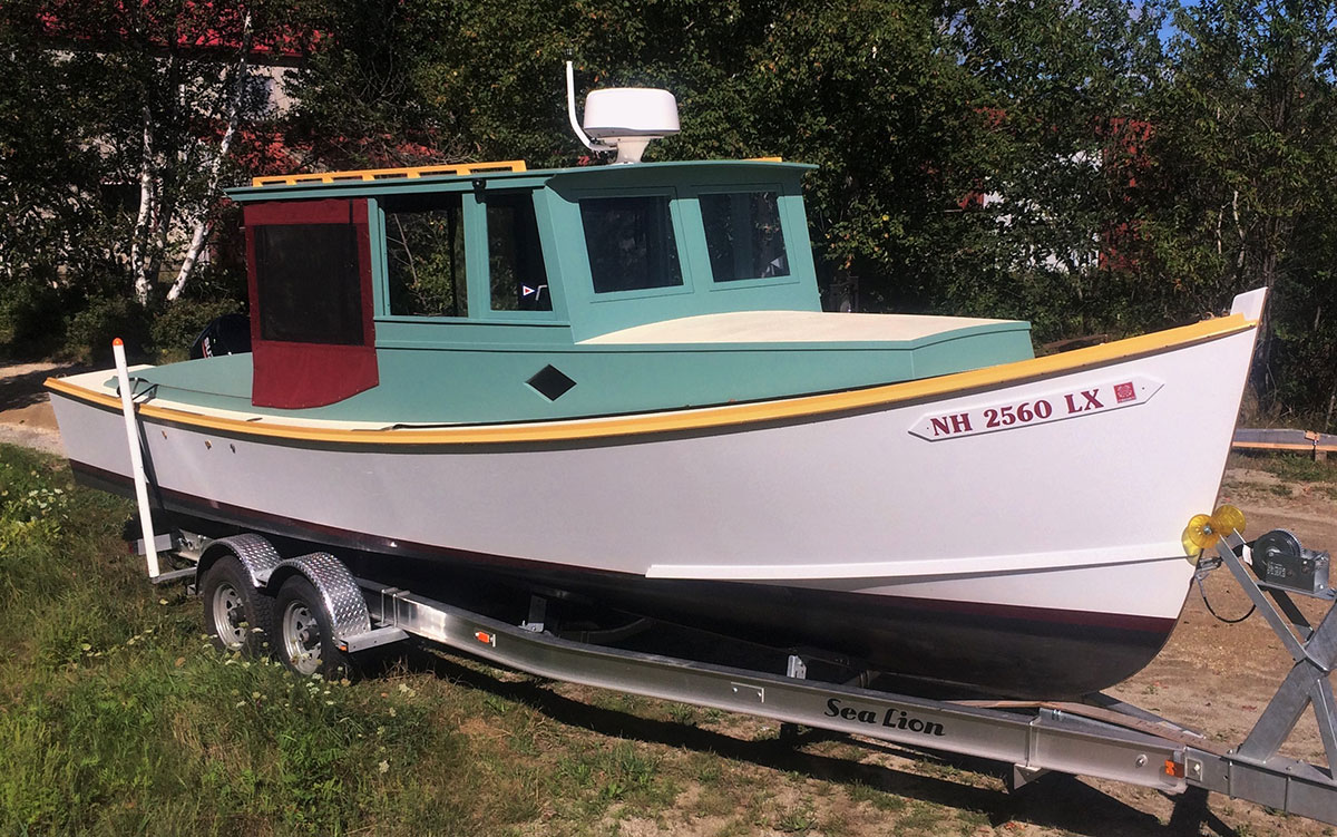 Marsh Hen Shoal Draft Lobster Picnic Boat for sale